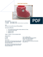 Baby Booties Free