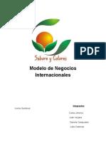 Modelo de negocios internacionales