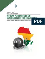 African Debt Restructuring