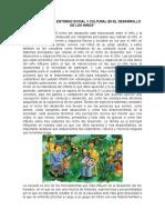 Importancia Del Entorno Social y Cultural en El Desarrollo de Los Niños