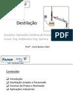 Aula 02 Destilação e Extração
