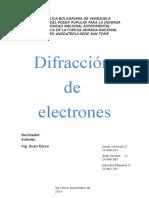 Difraccion de Electrones (2)
