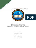 IFK Knockdodwn Rules V4.1 Amended 2014