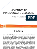 Aula 1 Introdução a Geologia