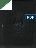 Skyrim Collectors Edition Artbook