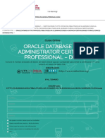 Centro de Elearning - Oracle Database 11g Administrator Certified Professional - DBA