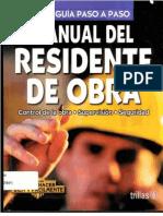 Manual Del Residente de Obra - Luis Lesur -Arquilibroa - Al