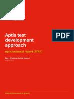 Aptis Test Development Approach