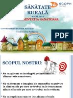 Sanatate Rurala - prezentare
