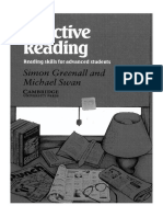 Effective Reading (for Advanced Students), S. Grenall, M. Swan