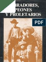 Labradores, Peones y Proletarios. Gabriel Salazar