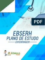 Plano de Estudos Ebserh