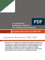 6 Revolucion en La Arq. 1900-1930