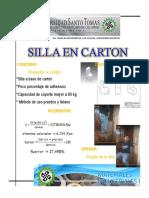 Poster Silla Carton
