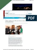 ÑAM. Rueda de Prensa. ABC  Espana Castilla Leon Abci Saldra Calle Para b