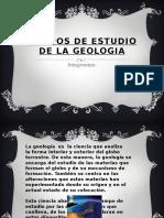 Campos de Estudio de La Geologia