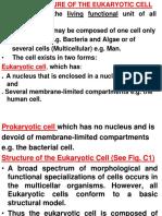 Cell Ultrastructure Slide MDSC 1001 Sept 2016