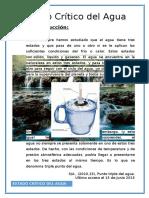 Estado Critico Del Agua