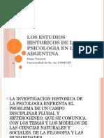 Los Estudios Historicos de La Psicologia n La