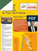Tour de France 2010 - Etape Medoc Contre-la-montre Bordeaux-Pauillac - Le Guide Officiel