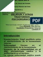 04 - Delirium y TX Orgánicos - Eduardo
