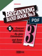Beginning Band Book Nº3