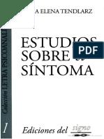 Silvia Tendlarz - Estudios Sobre El Síntoma
