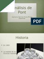 Análisis de Pont