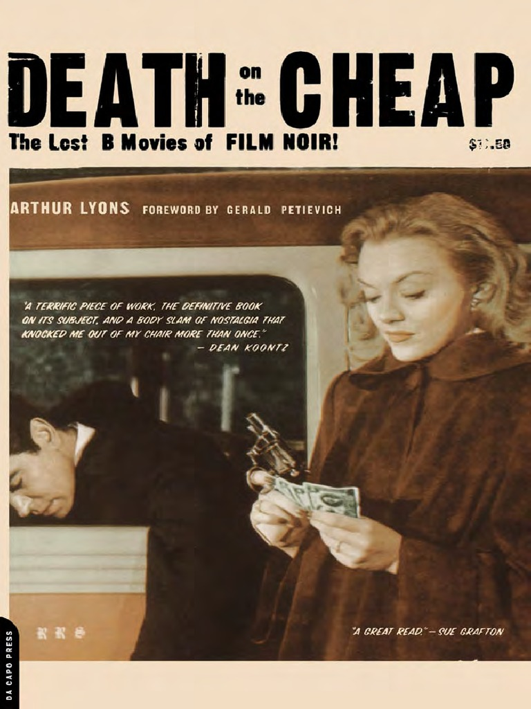 Arthur Lyons - Death on the Cheap  the Lost B Movies of Film
