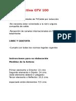 Antena Activa GTV 100