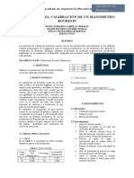 Informe N5 Calibracion de Un Manometro Bourdon
