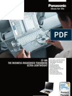Panasonic Toughbook CF-W8 - Fisa Tehnica