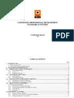 CPD Standard Activities