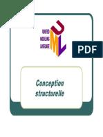 Cours Conception Modeles Structurels
