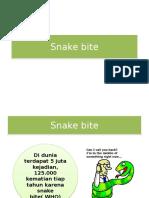 Tinjauan Pustaka Snakebite