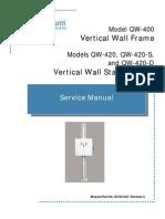 Dc30 040 Qw 400, Qw 420, Qw 420 d, Qw 420 s Service Manual r