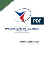 Unidad 5 Politica Economica