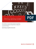 BAIN Brief_Winning Operating Models