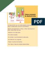 Como Prevenir La Desnutricion Desnutricionun tema basico