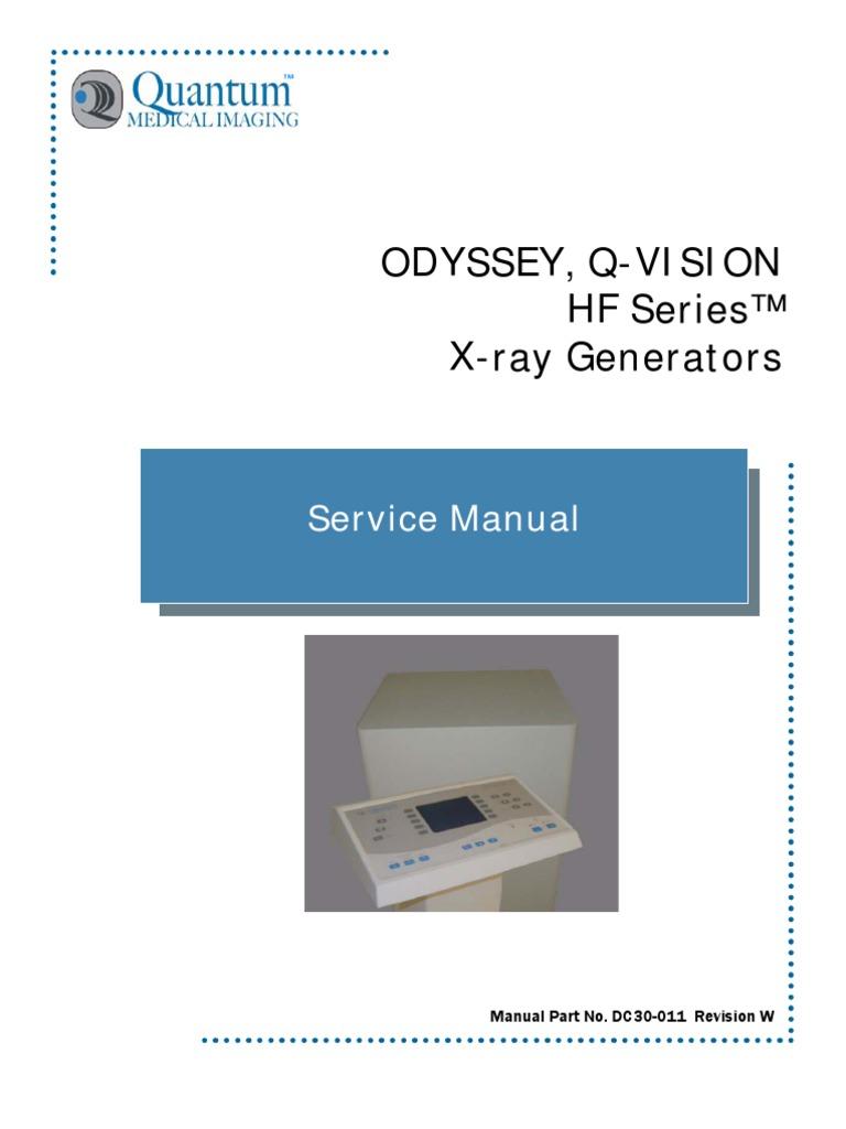DC30-011 Odyssey_Q-Vision HF Generator Service Manual_Rev W | Mains ...
