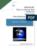 DC30-034 QS-500, QS-550 Operator Manual Rev C