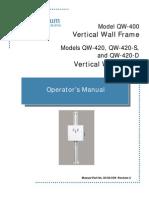 Dc30 039 Qw 400, Qw 420, Qw 420 d, Qw 420 s Operator Manual