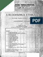 A buddhizmus etikája 1932