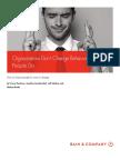 BAIN Brief_Organizations Don't Change Behavior - People Do !!!