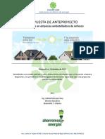 propuesta ecologica tubo de luz