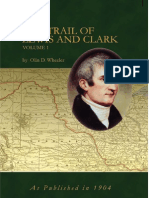 The Trail of Lewis and Clark Volume I Sample