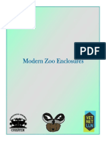 Modern Zoo Enclosure