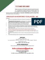 Redhum GT Especialista de Monitoreo y Evaluacion HEIFER-20160829-IC-19059