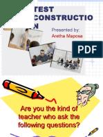 Test Construction Presentation