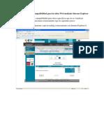 Modo de Compatibilidad Internet Explorer 8
